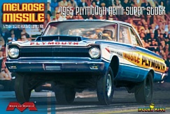 1/25 Melrose Missile 1965 Plymouth Hemi Super Stock Drag Car (Ltd Prod)