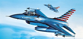 1/72 GD YF16A Falcon USAF Fighter