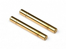 TITANIUM NITRIDE STEERING POST 3x23mm (2pcs)