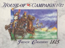 1/72 Napoleonic Wars: 1815 French Cuirassiers (12)