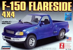 1/25 FORD F150 4X4 FLARESIDE P