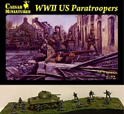 1/72 WWII US Paratroopers