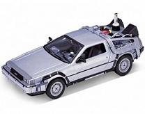 1/24 DeLorean Time Machine Back To The Future II (Met. Silver)