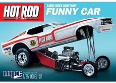 1/25 1970s Hot Rod Magazine Mustang Funny Car