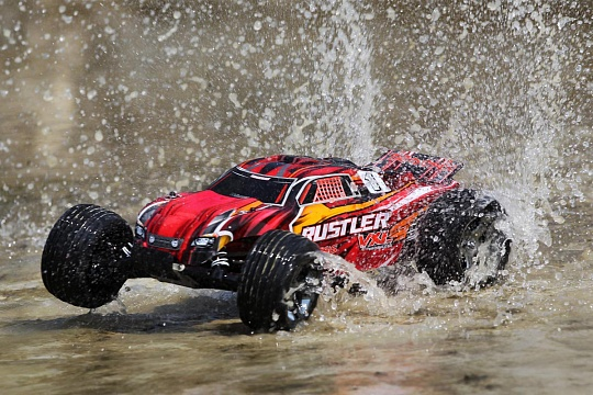 Rustler VXL Brushless 2WD 1/10 RTR + NEW Fast Charger №27