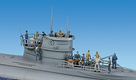 1/72 German Marines WWII Plastic Model Kit