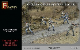 1/32 German Fallschirmjager (10)