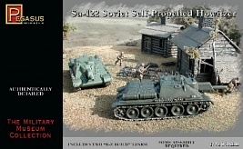 1/72 Soviet Su122 Self-Propelled Howitzer (2) (Snap)