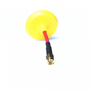 5.8G Mushroom Universal Antenna (compatible with both RX and TX) SMA, plug - Yellow №1
