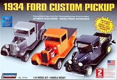 1/24 1934 FORD CUSTOM PICKUP T