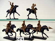 1/32 Northwest Frontier Indian Army Cavalry 28th Light Lancers (5 Mtd)