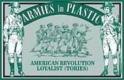 1/32 American Revolution Loyalist Infantry (Tories) (20)