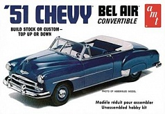 1/25 51 Chevy Convertible