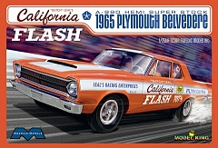 1/25 Butch Leal's California Flash 1965 Plymouth Belvedere A990 Hemi Super Stock Drag Car (Ltd Prod)