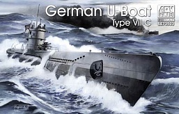 1/350 German U-Boat Type VII C Submarine