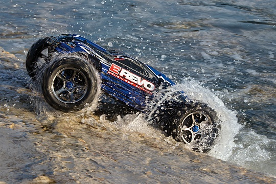 E-Revo Brushless MXL 4WD 1/10 RTR с системой стабилизации (with telemetry) + Fast Charger №21