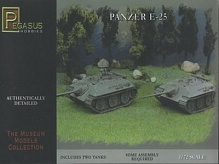 1/72 German Panzer E25 Tank (2) (Snap)