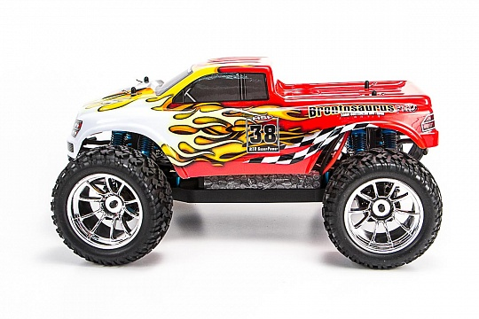 1/10 EP 4WD Off Road Monster (WaterProof, NiMh, Brushless) №2