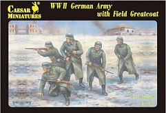 1/72 WWII German Army w/Field