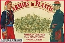 1/32 American Civil War 114th Union Pennsylvania Zouaves (20)