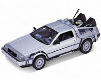 1/24 DeLorean Time Machine Back To The Future I (Met. Silver)