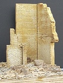 "1/35 Ruined Brick Corner Building Section (5""x4""x6"")"