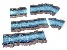 Multi-Scale for 1/72-1/32 River 6pc Set (Painted)