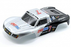 Body, Amsoil replica, 1/16 Slash (painted, decals applied)