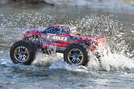 E-Maxx Brushless MXL 4WD 1/10 RTR (with Bluetooth module and telemetry) + NEW Fast Charger №26