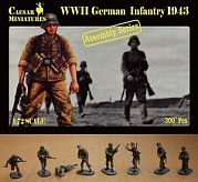 1/72 WWII GERMAN INFANTRY