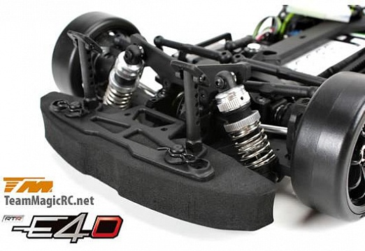 Дрифт 1/10 электро E4D RX7 RTR (Brushless Spec.) №7