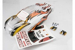 Body, Rustler, ProGraphix (replacement for the painted body. Graphics are printed, requires paint &a