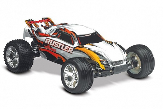 Rustler 2WD 1/10 RTR + NEW Fast Charger №3