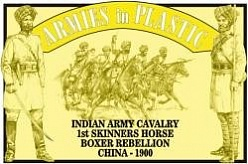 1/32 Boxer Rebellion China 1900 Indian Army Cavalry 1st Skinners Horse (5 Mtd)