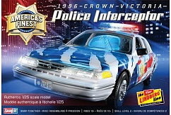 1/25 1996 Crown Victoria Police Interceptor Car