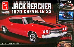 1/25 Jack Reacher's 1970 Chevelle SS Car