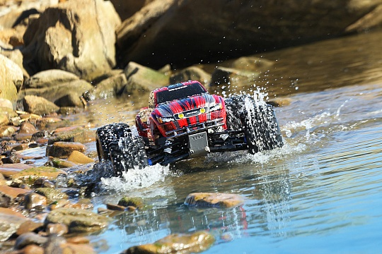 E-Maxx Brushless MXL 4WD 1/10 RTR (with telemetry) №17