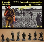 1/72 WWII German Panzergrenadier Normandy
