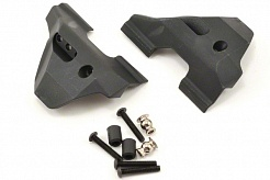 Suspension arm guards, front (2)/ guard spacers (2)/ hollow balls (2)/ 3X16mm BCS (8)