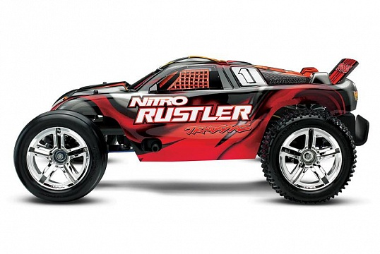 Nitro Rustler 2WD 1/10 RTR + NEW Fast Charger №6