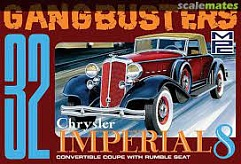 1/25 1932 Chrysler Imperial 8 Gangbusters Convertible Coupe