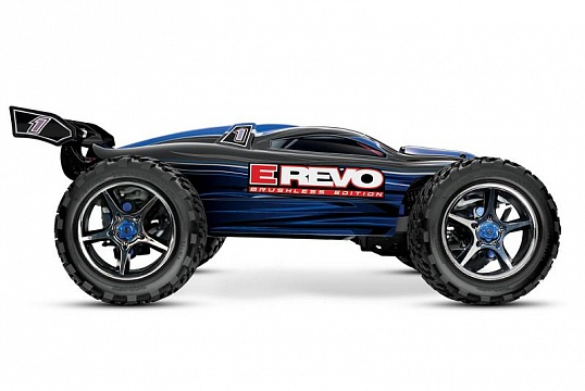 E-Revo Brushless MXL 4WD 1/10 RTR с системой стабилизации (with telemetry) + Fast Charger №4