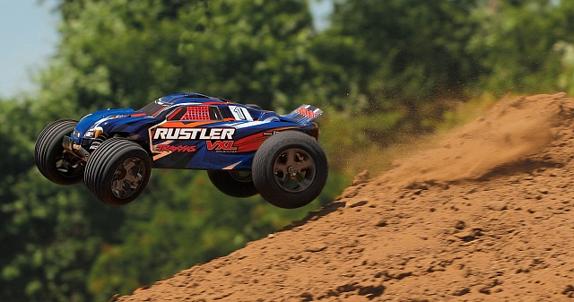 Rustler VXL Brushless 2WD 1/10 RTR + NEW Fast Charger №15