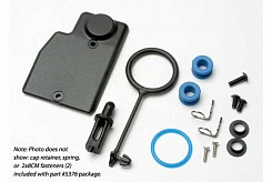 Rebuild kit, fuel tank (includes: mounting post, grommets (2), tank guard, mounting clips (2), cap o